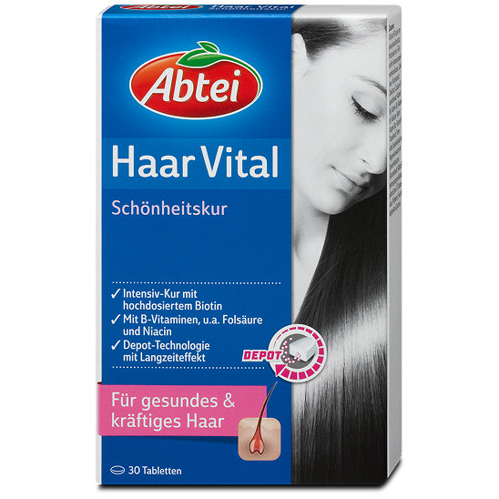 abtei haar vital sch nheitskur tabletten. Black Bedroom Furniture Sets. Home Design Ideas