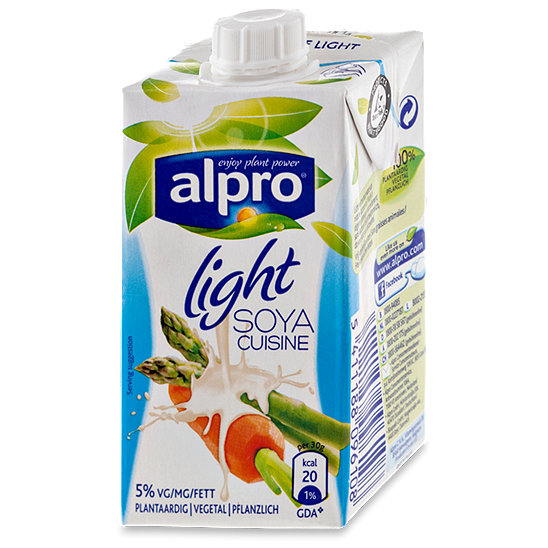 Alpro soya cuisine creme light saucen im dm online shop for Alpro soya cuisine light