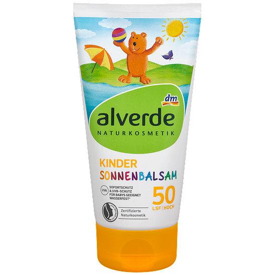 alverde Kinder Sonnenbalsam LSF 50 - Sonne
