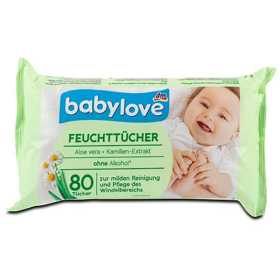 Výsledek obrázku pro babylove wipes aloe vera dm