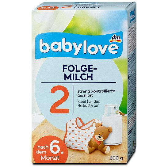 babylove folgemilch 2 milchnahrung folgemilch im dm online shop. Black Bedroom Furniture Sets. Home Design Ideas