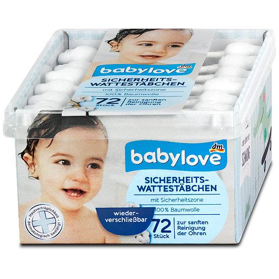 babylove sicherheits wattest bchen pflegezubeh r im dm online shop. Black Bedroom Furniture Sets. Home Design Ideas