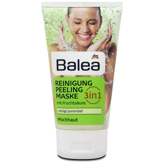 balea 3in1 reinigung peeling maske mit fruchts ure. Black Bedroom Furniture Sets. Home Design Ideas