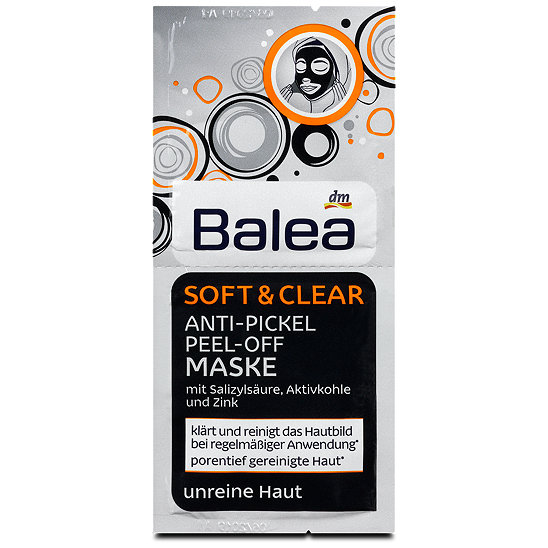 balea anti pickel peel off maske soft clear. Black Bedroom Furniture Sets. Home Design Ideas