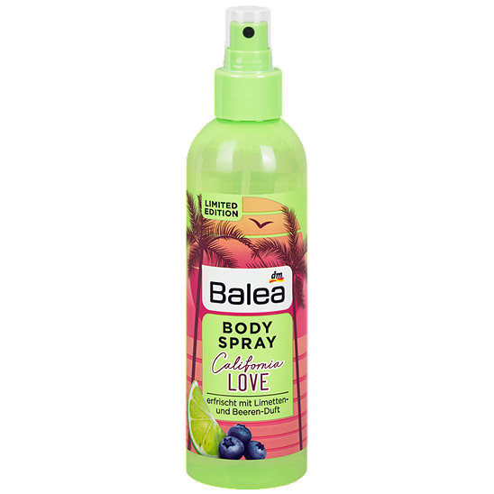 Balea body spray preis