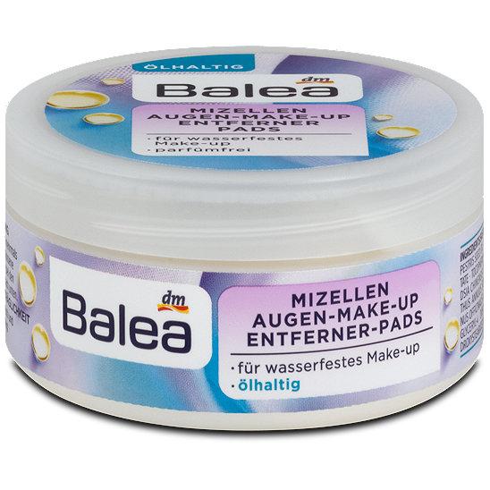 Top Balea Mizellen Augen Make-up Entferner Pads ölhaltig &OG_14