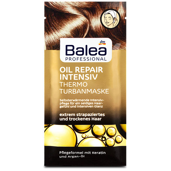 Balea Professional Oil Repair Intensiv Thermo Turbanmaske