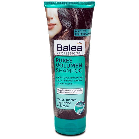 balea professional pures volumen shampoo shampoo im dm online shop. Black Bedroom Furniture Sets. Home Design Ideas
