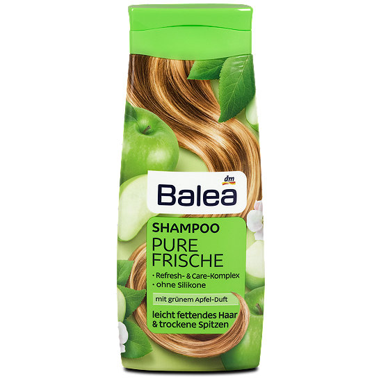balea shampoo pure frische shampoo im dm online shop. Black Bedroom Furniture Sets. Home Design Ideas