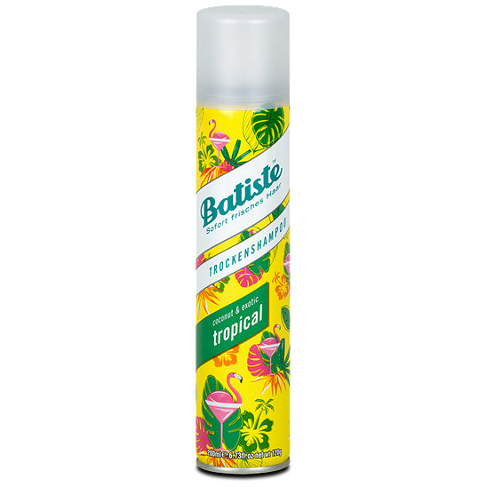 batiste trockenshampoo coconut exotic shampoo im dm online shop. Black Bedroom Furniture Sets. Home Design Ideas