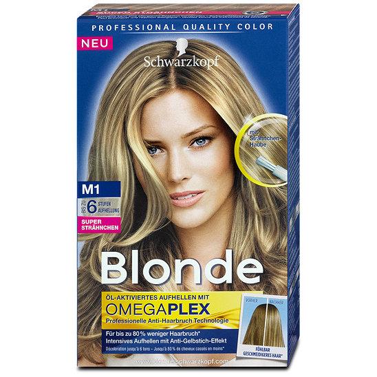 Blonde Super Strähnchen Aufheller Haarfarbe Im Dm Online Shop