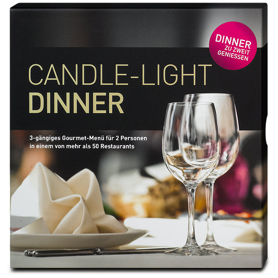 candle light dinner f r 2 geschenksets geschenksets. Black Bedroom Furniture Sets. Home Design Ideas