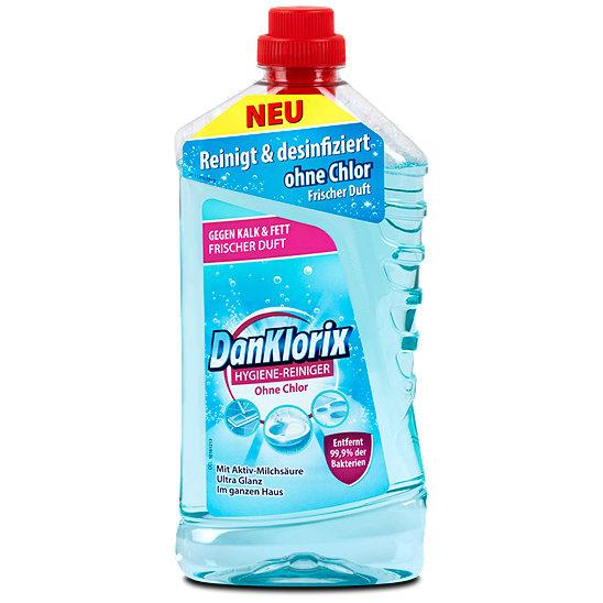 Danklorix hygiene reiniger ohne chlor for Gartenpool ohne chlor
