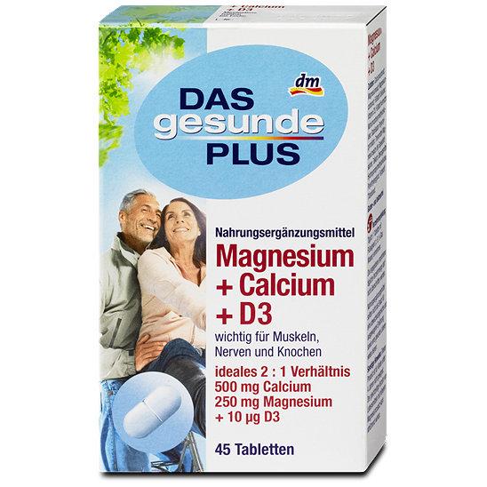 das gesunde plus magnesium calcium d3 tabletten. Black Bedroom Furniture Sets. Home Design Ideas