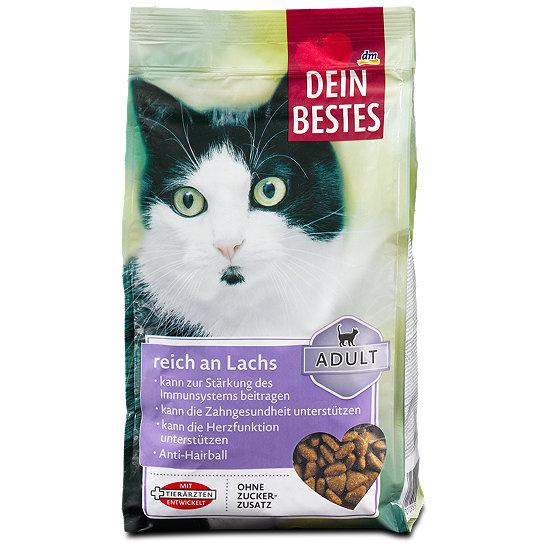 Dein Bestes Adult Katzen Trockenfutter Reich An Lachs
