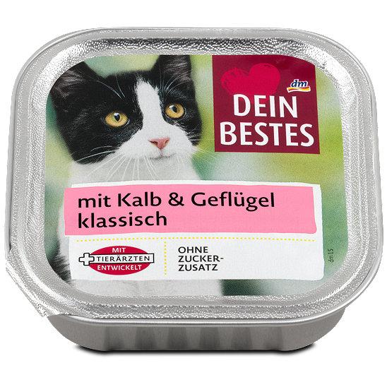Dein Bestes Katzenfutter Klassisch Mit Kalb Geflugel