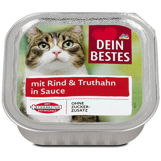 Dein Bestes Katzenfutter Mit Rind Truthahn In Sauce