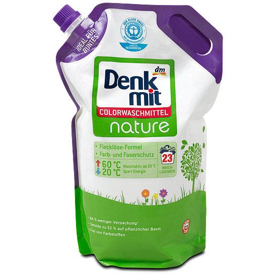 denkmit nature colorwaschmittel waschmittel im dm online shop