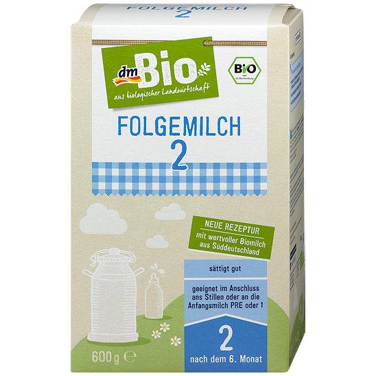 Dmbio Folgemilch 2 Milchnahrung Folgemilch Im Dm Online Shop
