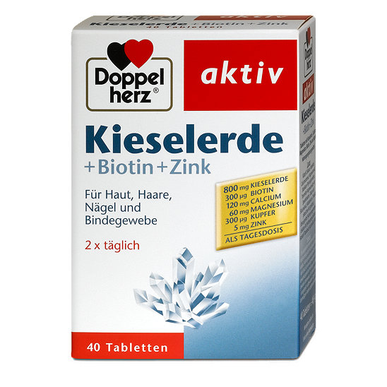 doppelherz aktiv kieselerde biotin zink tabletten. Black Bedroom Furniture Sets. Home Design Ideas