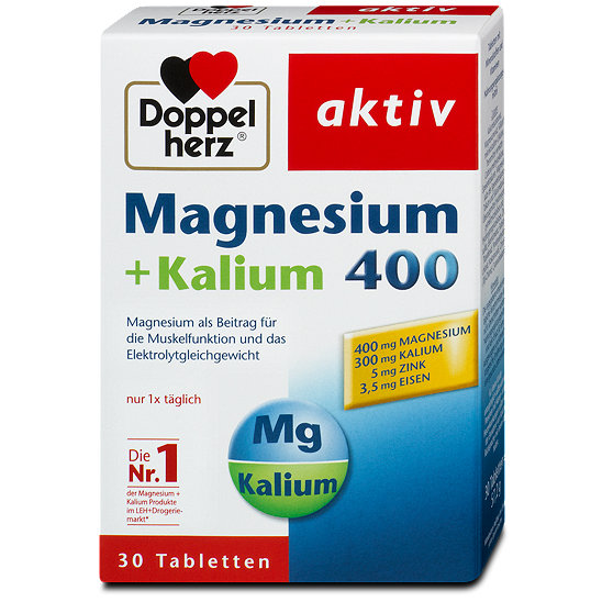 doppelherz aktiv magnesium kalium 400 tabletten. Black Bedroom Furniture Sets. Home Design Ideas