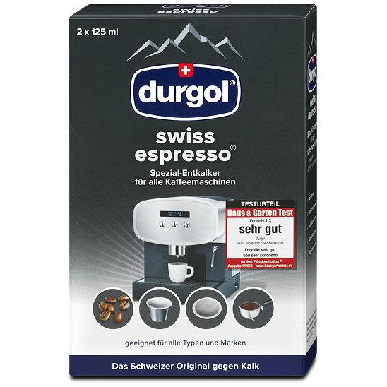 durgol swiss espresso spezial entkalker f r kaffeemaschinen. Black Bedroom Furniture Sets. Home Design Ideas