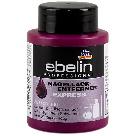 Ebelin Nagellack-Entferner Express
