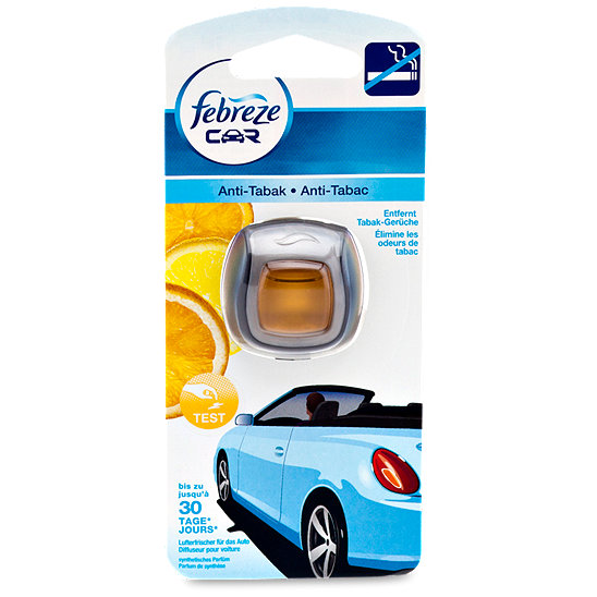 febreze car anti tabak lufterfrischer. Black Bedroom Furniture Sets. Home Design Ideas
