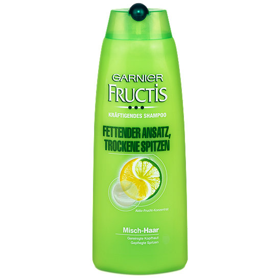 shampoo fructis garnier fructis kr ftigendes shampoo fettender ansatz trockene spitzen 124461. Black Bedroom Furniture Sets. Home Design Ideas