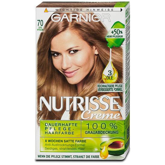 GARNIER Nutrisse Creme dauerhafte Pflege-Haarfarbe Nr. 3