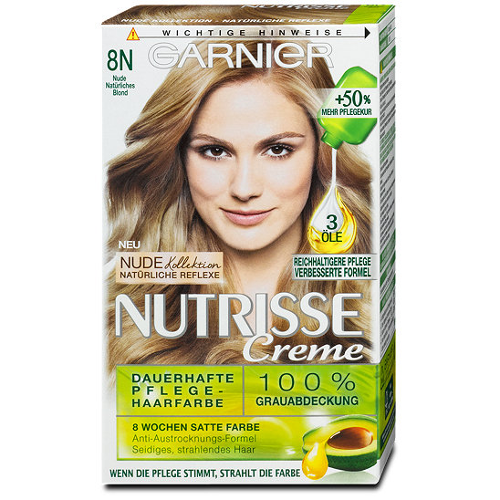 GARNIER Nutrisse Creme dauerhafte Pflege-Haarfarbe Nr. 40