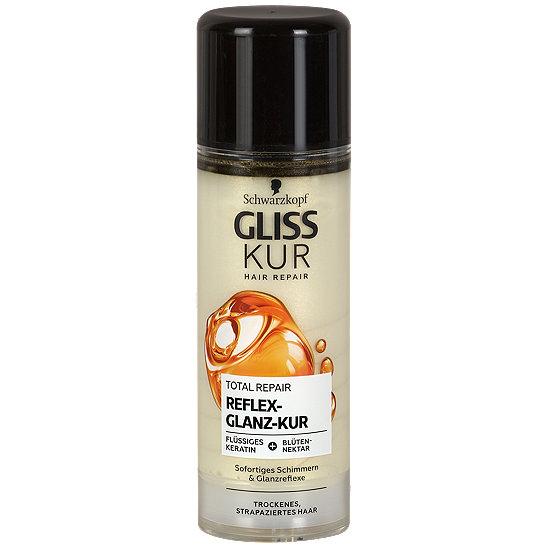 Gliss Kur Hair Repair Reflex Glanz Kur Haarkur Total Repair