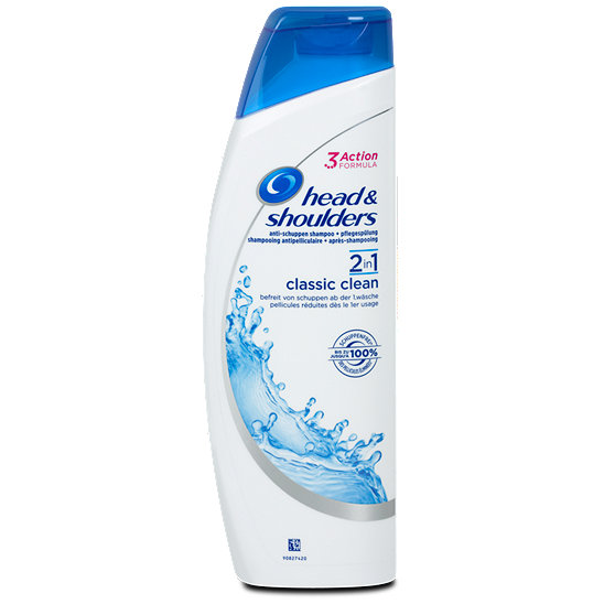 head shoulders 2in1 classic clean haarshampoo sp lung shampoo. Black Bedroom Furniture Sets. Home Design Ideas