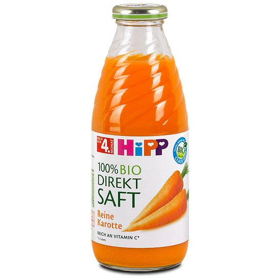 Karottensaft Baby