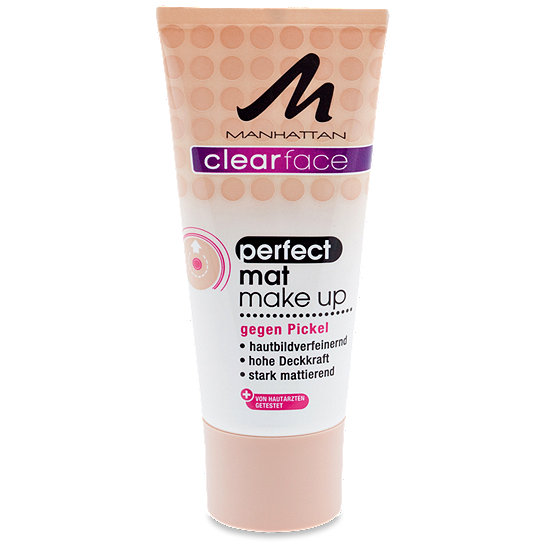 Manhattan Clearface Perfect Mat Make Up Make Up Im Dm Online Shop