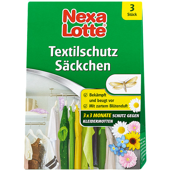 Nexa Lotte Textilschutz Sackchen Motten Im Dm Online Shop