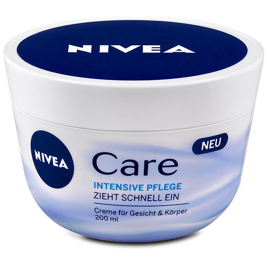 nivea care intensive pflege creme f r gesicht und k rper. Black Bedroom Furniture Sets. Home Design Ideas