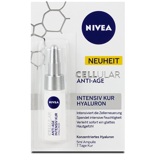 Nivea Cellular Anti-Age Intensiv Kur Hyaluron