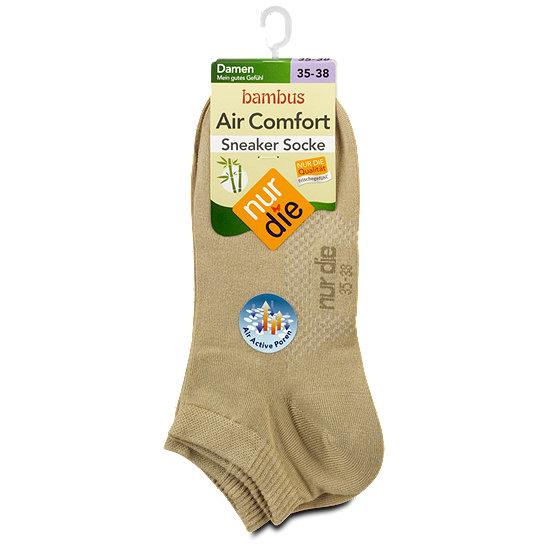 17d908bde950f5 nur die Bambus Sneaker Socken Air Comfort
