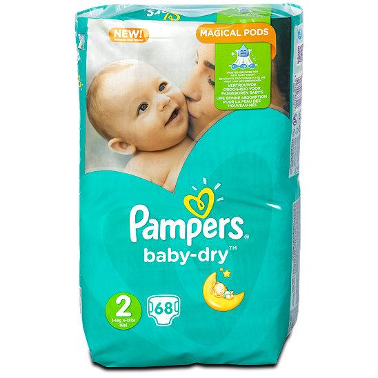 pampers größe 2 baby dry