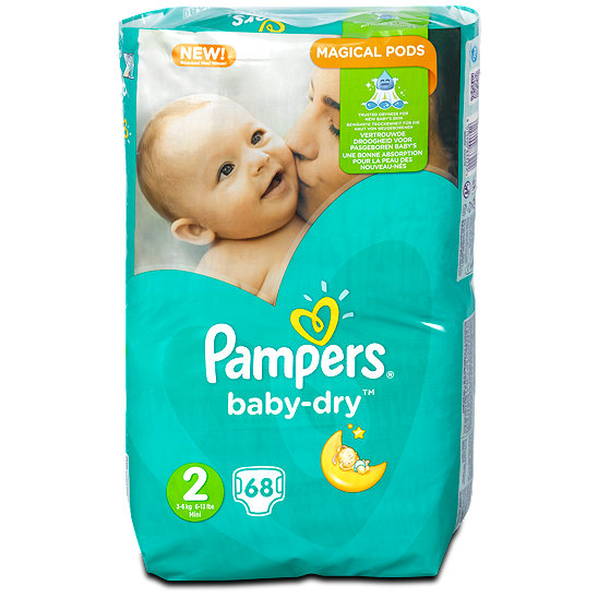 pampers baby dry 2 dm