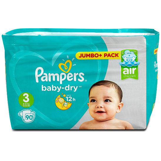 pampers baby dry windeln gr 3 5 9 kg jumbo pack. Black Bedroom Furniture Sets. Home Design Ideas