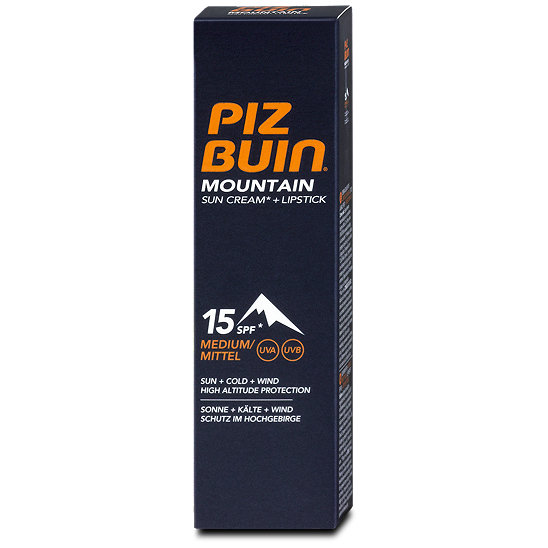 piz buin mountain sonnencreme lsf 15 lippenpflege lsf 30. Black Bedroom Furniture Sets. Home Design Ideas