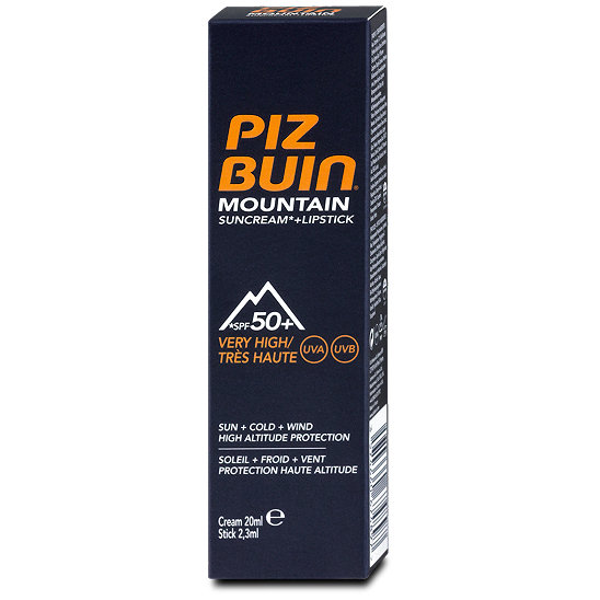 piz buin mountain sonnencreme lsf 50 lippenpflege lsf 30. Black Bedroom Furniture Sets. Home Design Ideas