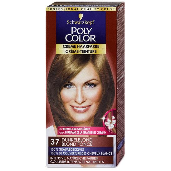 Haarfarbe dunkelblond grau