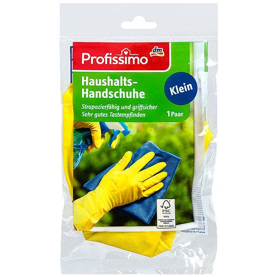 profissimo haushalts handschuhe klein handschuhe im dm online shop. Black Bedroom Furniture Sets. Home Design Ideas