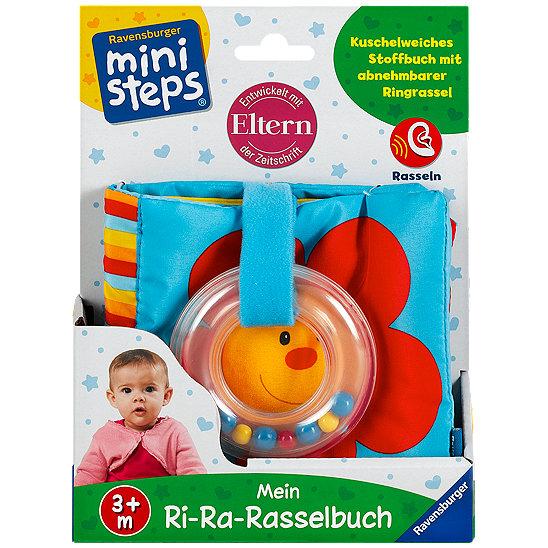 Ravensburger mini steps Mein erstes Rasselbuch