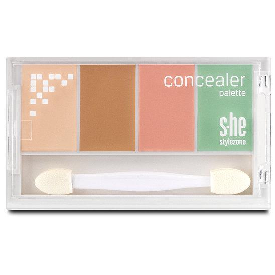 stylezone concealer palette concealer im dm online shop. Black Bedroom Furniture Sets. Home Design Ideas
