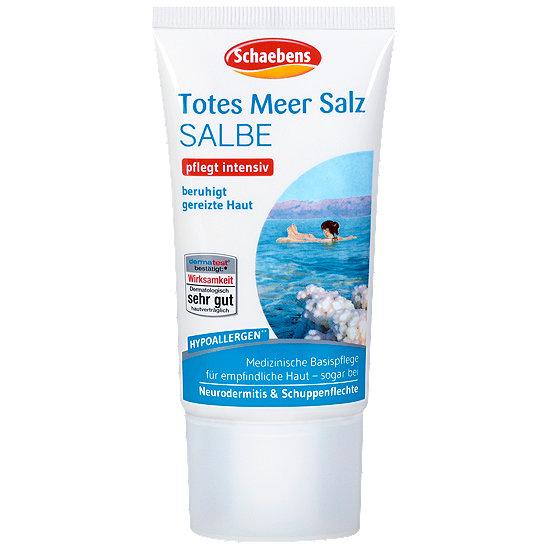TOTES MEER SALZ Pflege-Creme BOTANIS im Spender