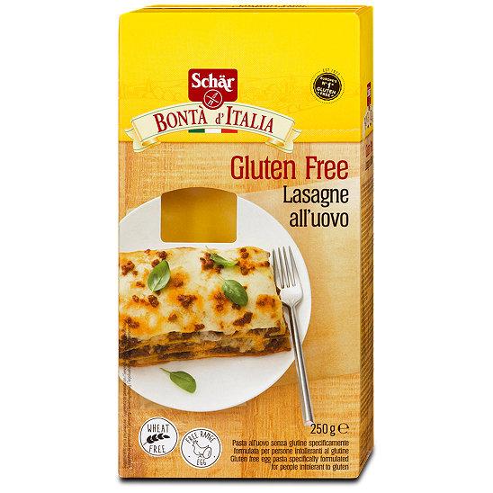 Glutenfreie lasagneplatten